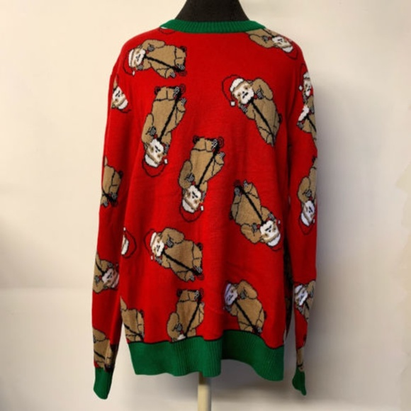 Sloth Ugly Christmas Sweater.New With Tags Santa Sloth Ugly Christmas Sweater Nwt